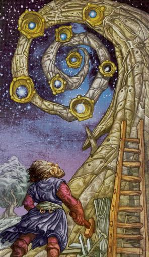 The Wooly Witch: Tarot, Wool